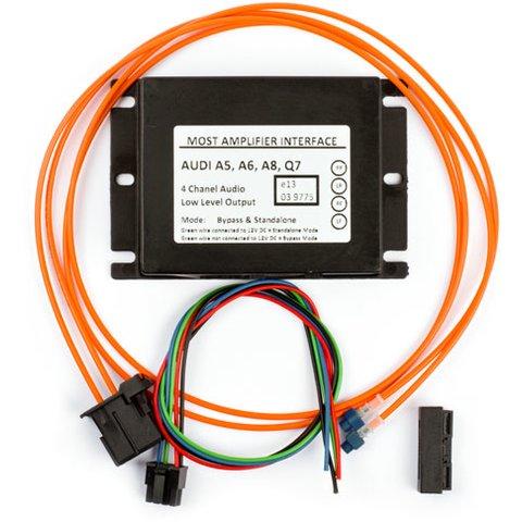 MOST-адаптер для подключения аудиоусилителя к Audi MMI (BOS-MI009) Превью 1
