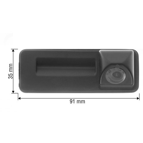 Tailgate Rear View Camera for Audi A1 of 2012-2016 MY Preview 1