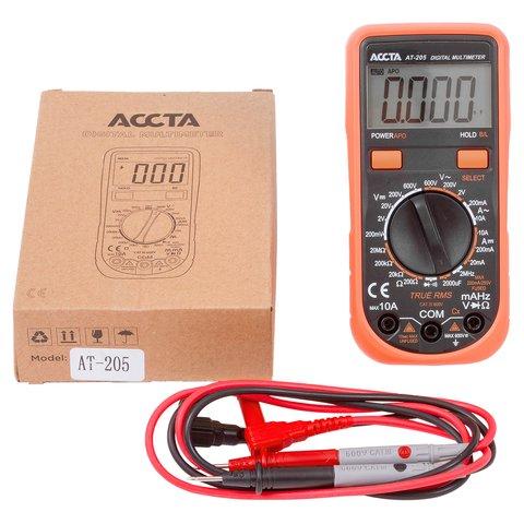 Digital Multimeter Accta AT-205 Preview 5