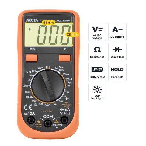 Digital Multimeter Accta AT-201 Preview 2